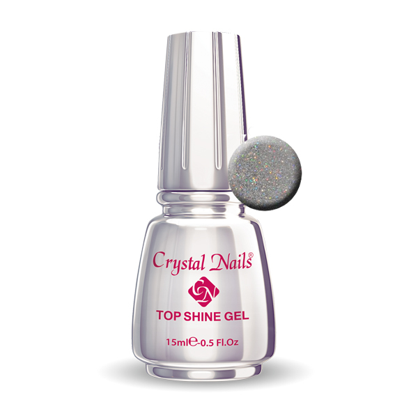 Top Shine Gel Holo Gold - 15ml