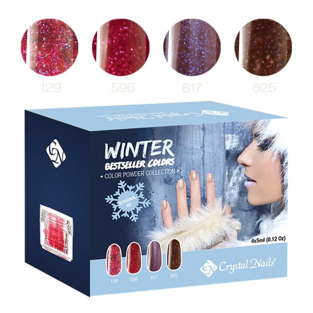 2015 Bestseller Colors Winter Powder Készlet - 4x5ml (3,5g)
