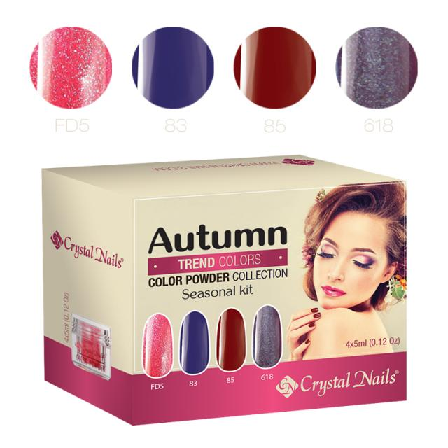 2015 Trend Colors Autumn Color Powder - 4x5ml