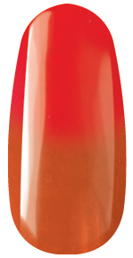 409 Thermo Color Powder - 7g Orange to Red