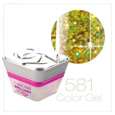 581 Multi Glitter Gel - 5ml