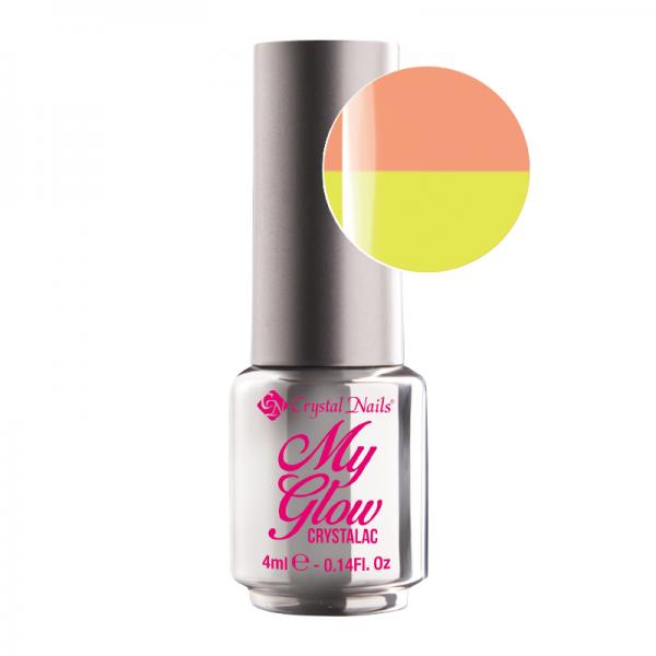 My Glow Crystalac - Peach 4ml