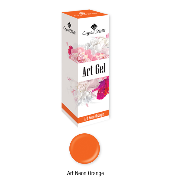 Art Gel Neon Narancs - 5ml