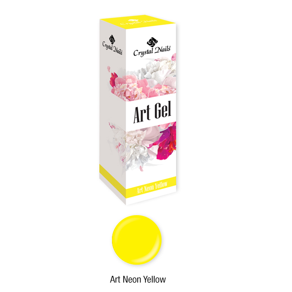 Art Gel Neon Sárga - 5ml