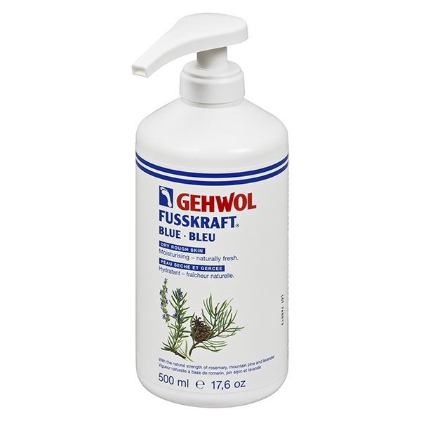 Gehwol Fusskraft Kék 500ml pumpás