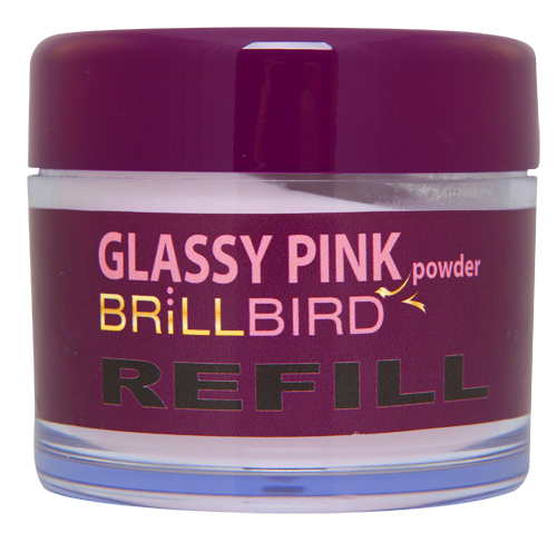 BrillBird Glassy Pink Powder