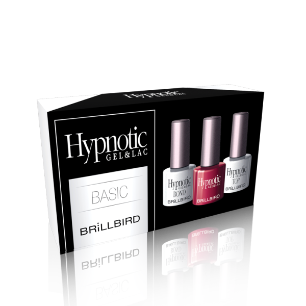 BrillBird Basic Hypnotic Gel&Lac Készlet - 3x8ml