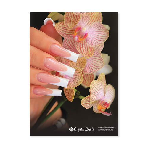 Crystal Nails poszter - Orchidea 70x50cm