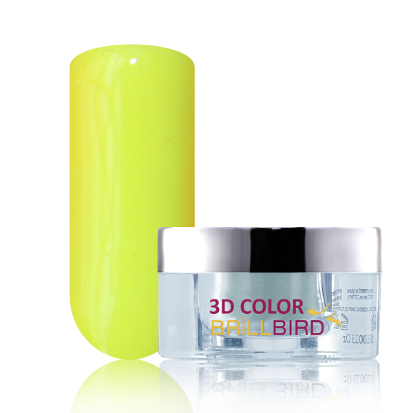 C42 3D Color Powder Színes Porcelán - 10ml Neonsárga