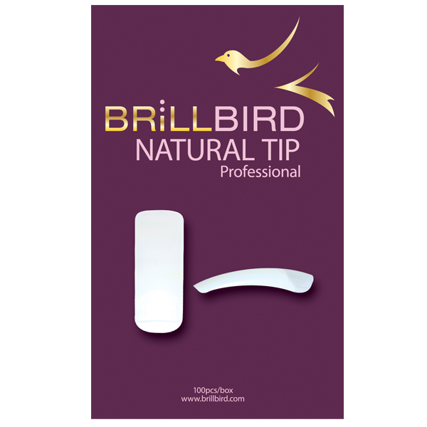 BrillBird Natural Tip Box - 100dbos