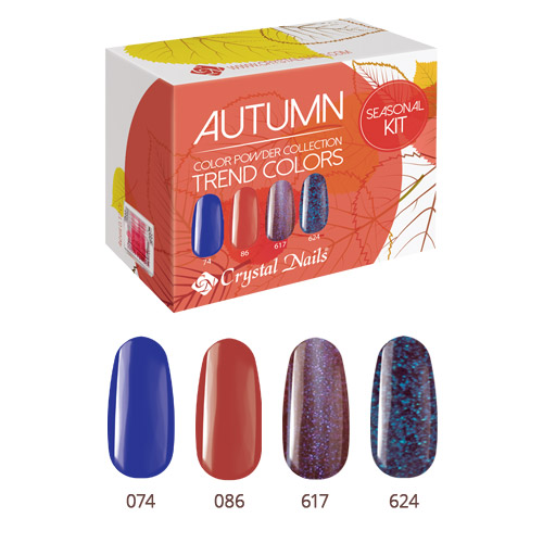 Trend Colors Autumn Powder - 4x5ml